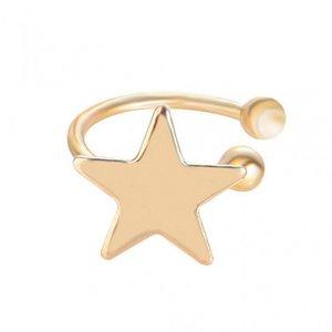Earcuff star - Goud