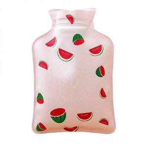 Handwarmer / mini kruik -  roze meloen
