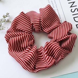Scrunchie streep - Rood