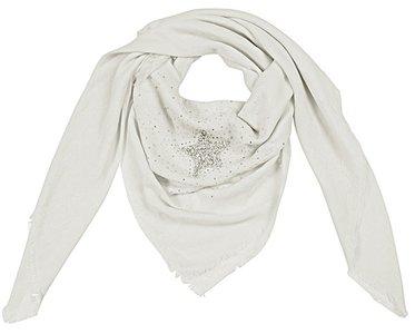 Sjaal strass star - Wit